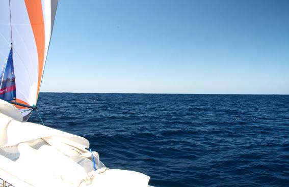 Atlantik wie ein Binnensee
