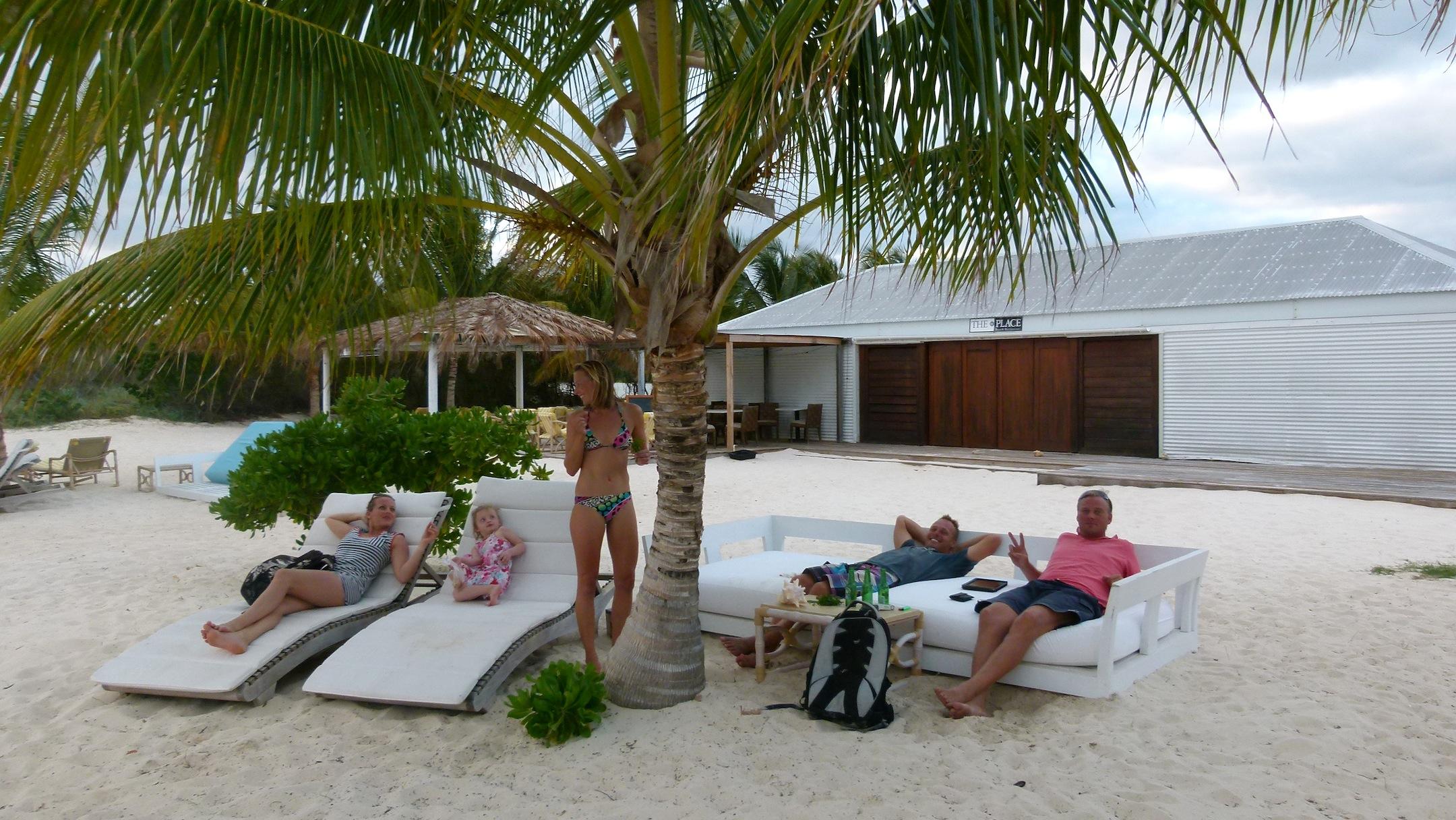 Sundowner auf Anguilla