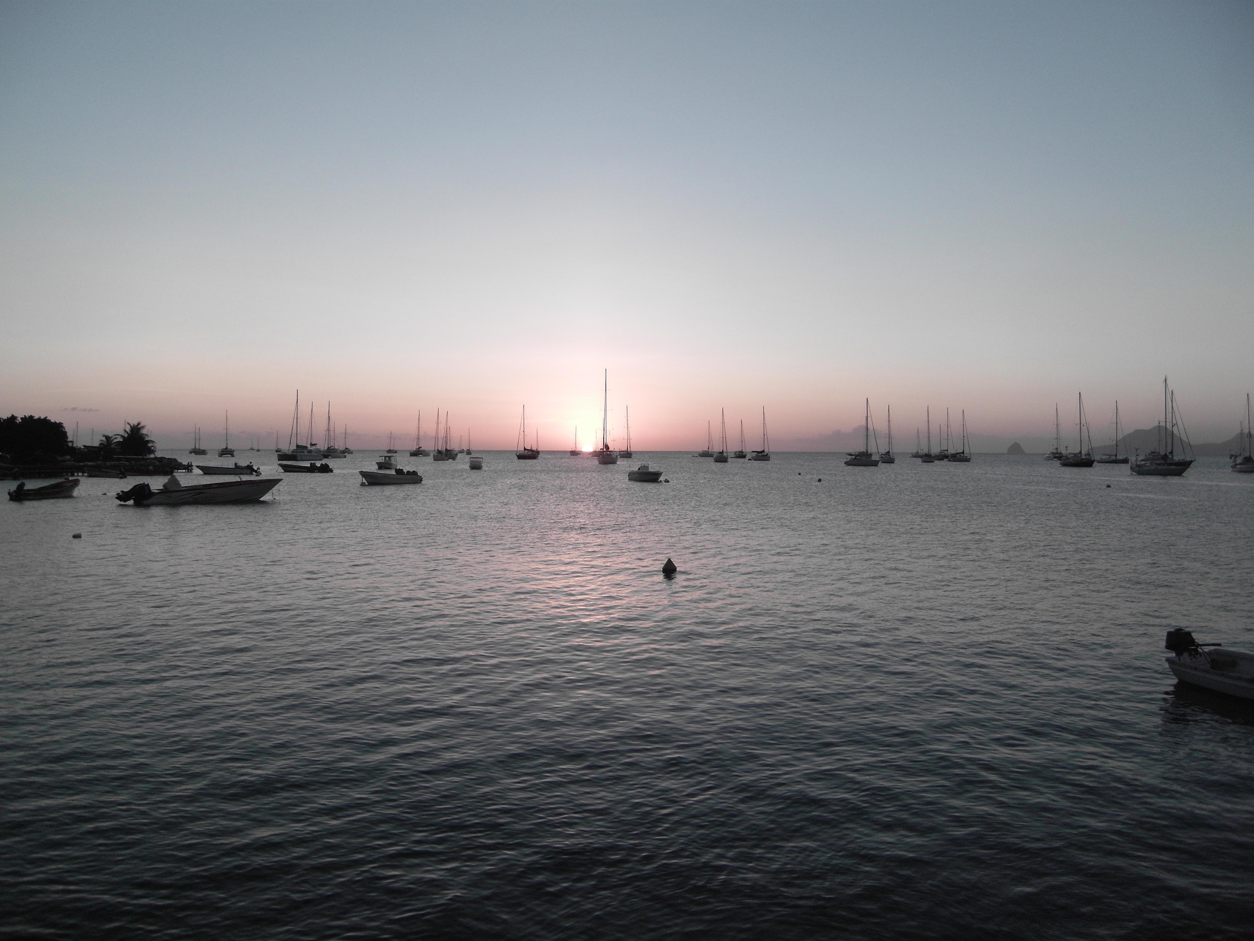 Sonnenuntergang Rodney Bay