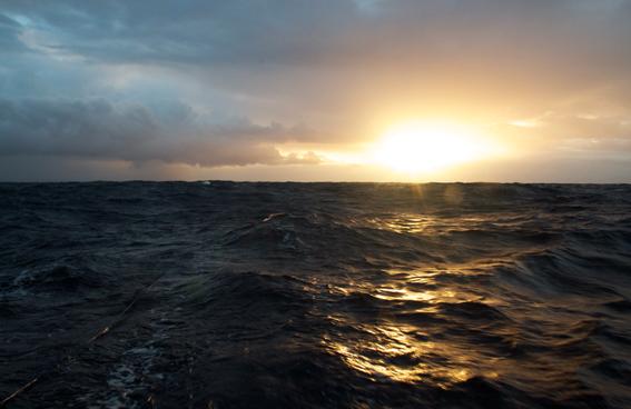 Sonnenuntergang auf der Passatroute